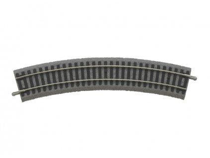 H0 - Oblouková kolej R2 442 mm 30° A-Gleis s podložím / PIKO 55412