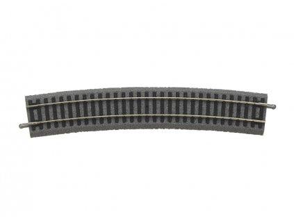 H0 - Oblouková kolej R9 908 mm 15° A-Gleis s podložím / PIKO 55419