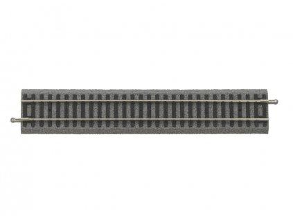 H0 - Rovná kolej 231 mm PIKO A-Gleis s podložím / PIKO 55401