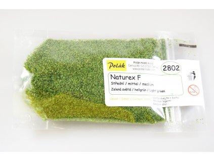 Naturex F - střední - Světlá zelená/ Polák model 2802