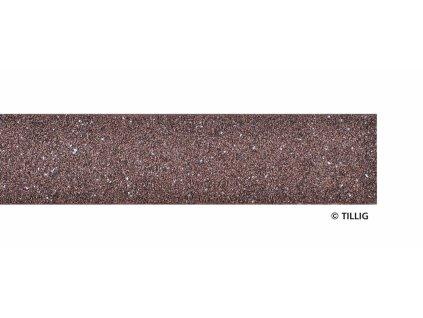 TT - Základní deska 700 mm, tmavá-hnědá / Tillig 86411 / STYROSTONE-Gleisbettung