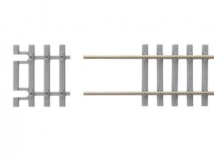H0 - Ukončení flexi kolejí s betonovými pražci / PIKO 55151