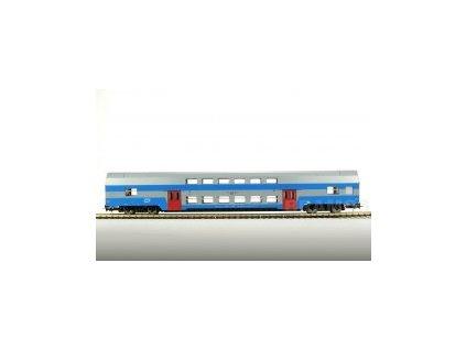 H0 - Osobní patrový vůz, ČD, Bmo 50 54 26-18 133-3 / Bramos 2503 04