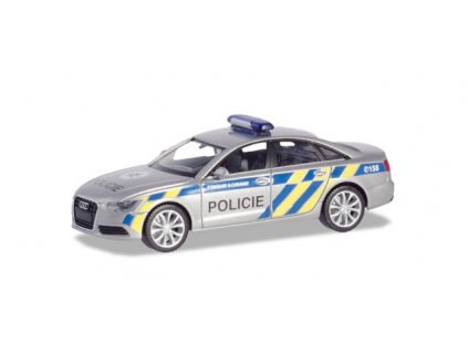 "H0 - Audi A6 Limousine ""Policie Praha"" / Herpa 094429"