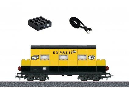 """AC H0 - poštovní vůz """"Express"""" se světelnými moduly / Märklin 44737"""