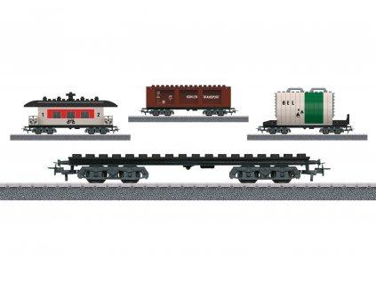 AC H0 - nákladní vůz - stavebnice 3 verze  / Märklin 44736