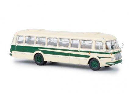 ARCHIV H0 - autobus Škoda 706 RTO béžovo - zelený / Brekina 58254