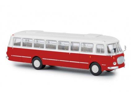 ARCHIV H0 - autobus Škoda 706 RTO červený / Brekina 58251