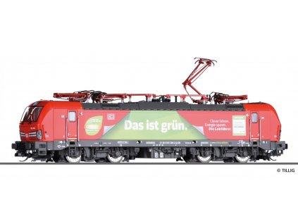 """TT - elektrická lokomotiva  193 309-2 """"Das ist grün"""" DB AG / Tillig 04826"""