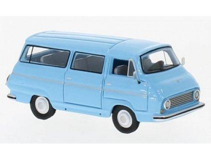 H0 - dodávka Škoda 1203 světle modrá / Brekina 87550
