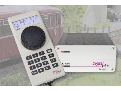 DCC SET 101  kompletní centrála, nová verze! / LENZ 60101
