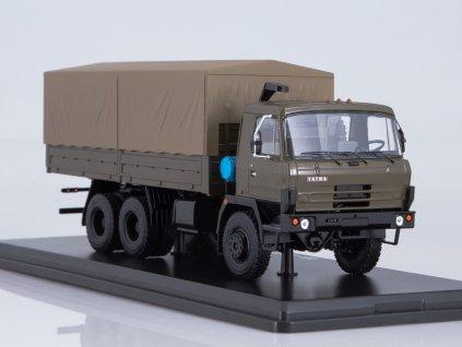 1:43 - nákladní auto Tatra 815V26 plachtou, vojenská / Herpa 83SSM1346