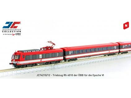 N - DCC/SOUND elektrická jednotka 4010.024 / Jägerndorfer JC74212