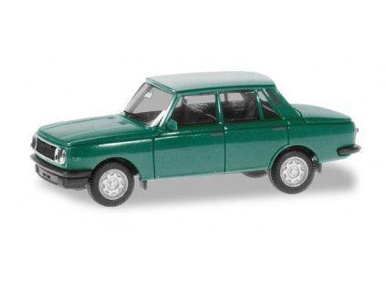 H0 - Wartburg 353'84 limuzína, krémová / Herpa 420396