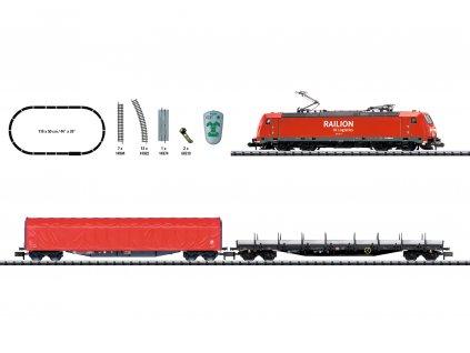 432276 n dcc start set nakladni vlak br 185 a 2 vozy trix 11145