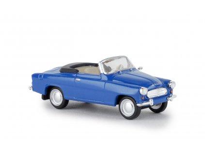H0 - auto Škoda Felicia modrá kabriolet / Brekina 27432