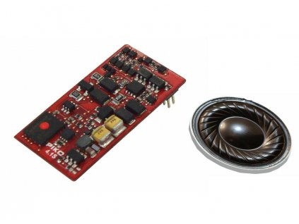 H0 - zvukový kit SmartDecoder 4.1 pro BR 130 PluX22 s repro/ PIKO 56440