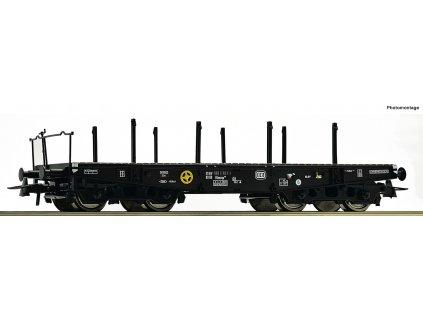 H0 - plošinový vůz na těžké náklady DB / Roco 46380