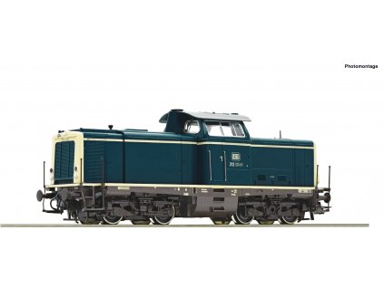 H0 - DCC/ZVUK dieselová lokomotiva BR 212 DB / Roco 52539
