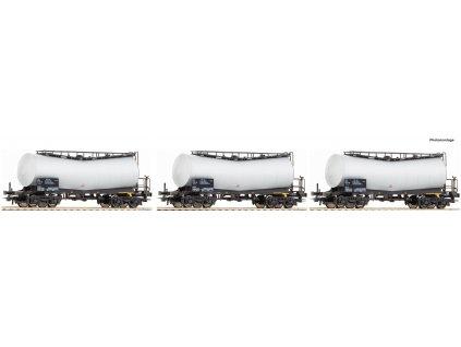 H0 - set 3 kotlových vozů ATIR-RAIL / Roco 67149