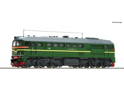 H0 - DCC/ZVUK diesel. lokomotiva M62 SZD Henning-Sound/ Roco 73801