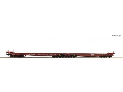 H0 - dvojitý vůz na přepravu aut Saadss FS / Roco 76756