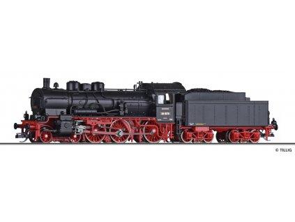 TT - parní lokomotiva BR 38.10 DRG nový tendr / Tillig 02030