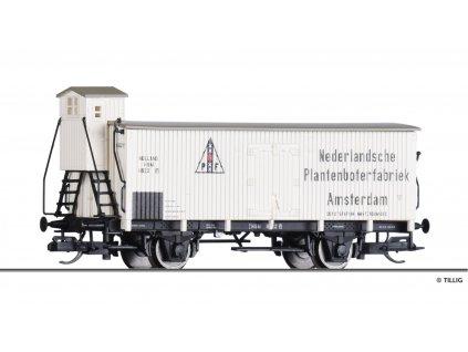 """TT - krytý vůz s budkou """"N. Plantenboterfabriek"""" u  HSM, Ep. I / Tillig 17922"""