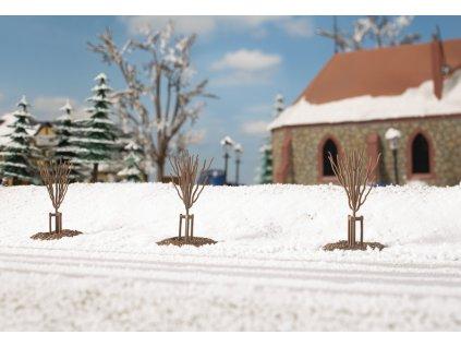 H0/TT/N - Mladé stromy  v zimě  / Auhagen 70951