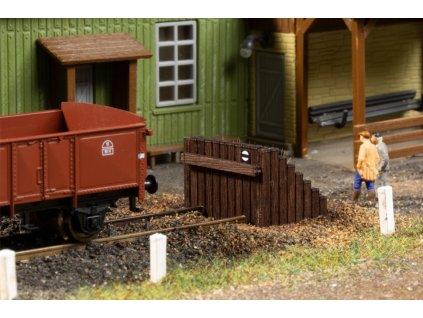TT - Kolejová zarážka dřevěná / Auhagen 43670