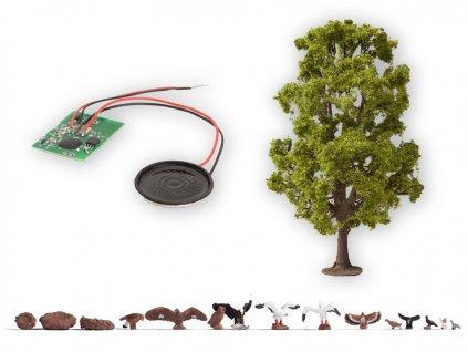 H0 - Strom se zvukem, 18,5 cm / NOCH 21782