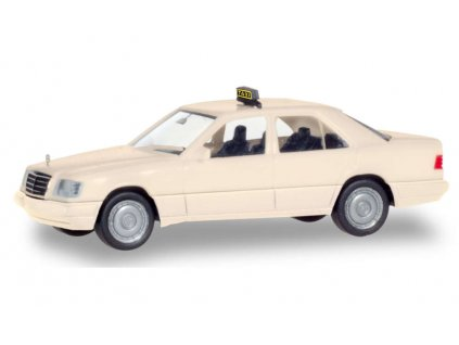 439208 h0 taxi mercedes benz tridy e w124 edice basic herpa 094184