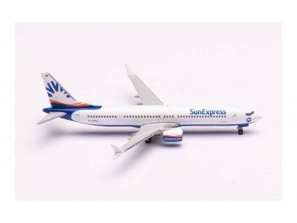 1:500 - dopravní letadlo B737 Max 9 Sun Express / Herpa 534291