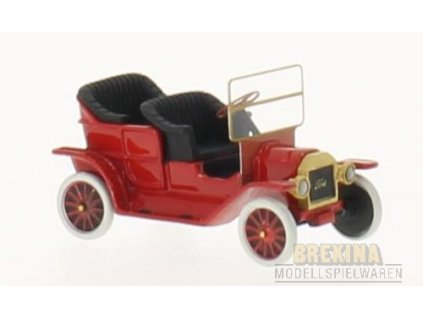 H0 - auto Ford T-Modell Touring rot, / Brekina BOS87176