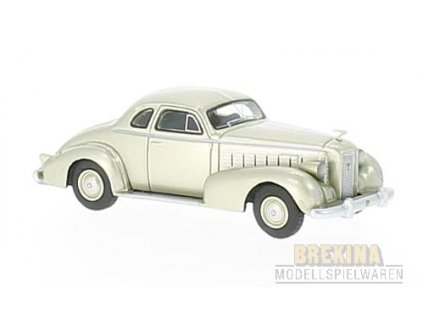 H0 - auto LaSalle Series 50  metallic beige, / Brekina BOS87335
