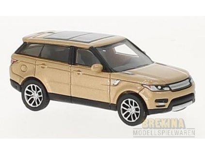 H0 - auto Land Rover Range Rover Sport bronze, / Brekina BOS87421