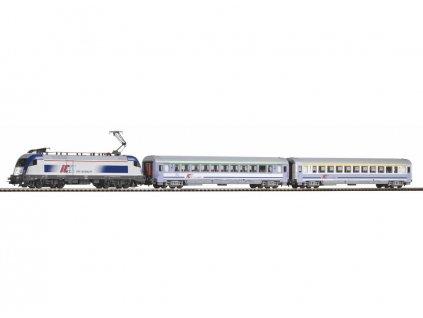 H0 - DCC Start set  - osobní vlak s lokomotivou Taurus PKP / PIKO 59024
