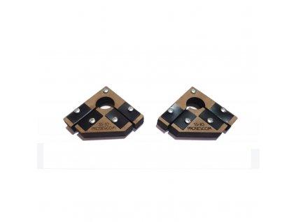 G - Pomůcka k lepení staveb Snap & Glue pro velké měřítka (2 ks magnetických úhelníků ) / Proses PPR-SS-11