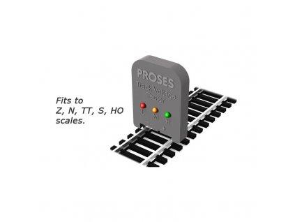 Zkoušečka napětí v kolejích / Proses PVT-001