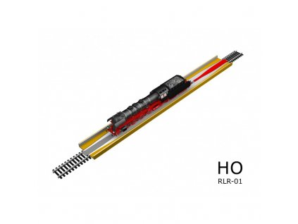 H0 - profi nakolejovač s napájením oboustranný / Proses PRLR-01