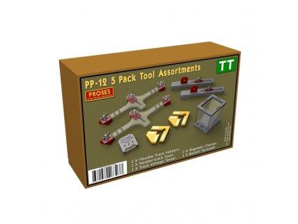 TT - výhodný set nástrojů k modelové železnici / Proses PPP-12