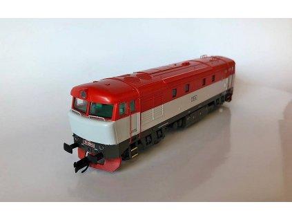 TT - Dieselová lokomotiva 751 004 ČD BARDOTKA / MTB 751004