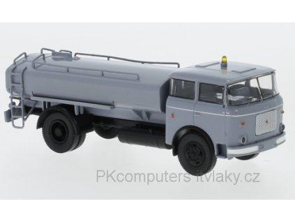 H0 - kropící vůz LIAZ 706 šedý 1970 / Brekina 71871