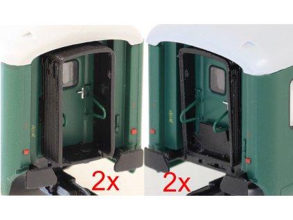 TT - Přechodové měchy Bai (2 ks) / IGRA MODEL 99110002