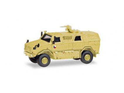 H0 - obrněný transportér ATF Dingo 2 CZ s KMW 1530 / Herpa 746779