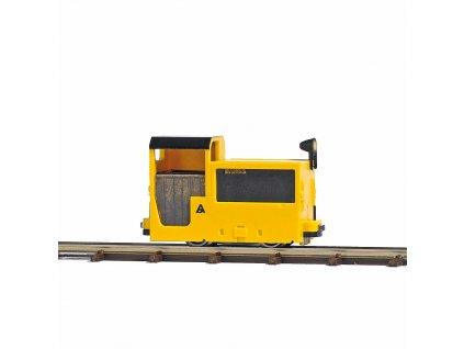 H0/H0f - důlní lokomotiva Grubenbahnlok B 360, světlo / Busch 12150
