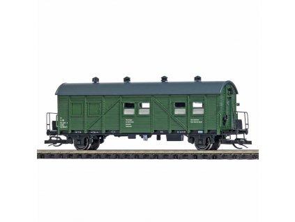 TT - služební vůz ze stavebního vlaku, DR, Ep. IV  / Busch 34005