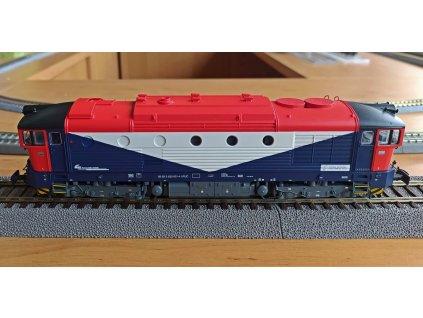 H0 - lokomotiva DE520 FUC Brejlovec, ep. VI / Rivarossi HR2845