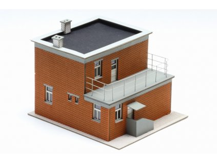 H0 - baťův jednodomek s verandou / Igra Model 201118