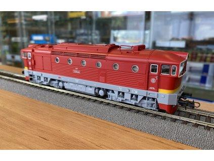 H0 - Dieselová lokomotiva BREJLOVEC T478.3, ČSD / Roco 72946